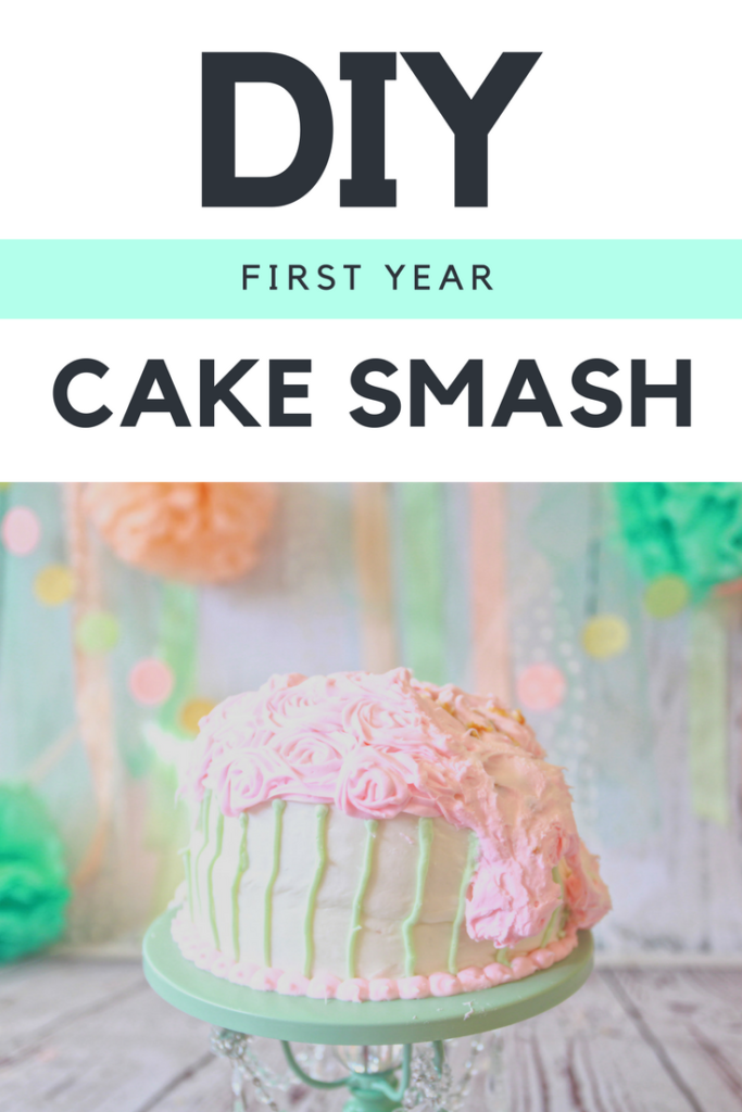 DIY Cake Smash Photo Session