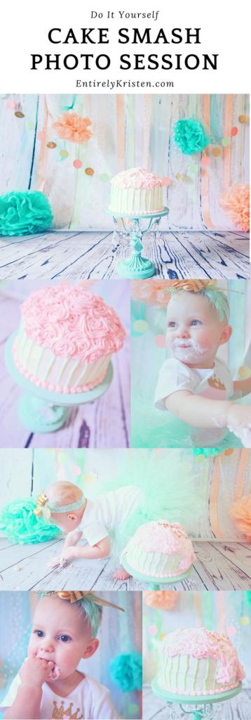 DIY Cake Smash Photo Session