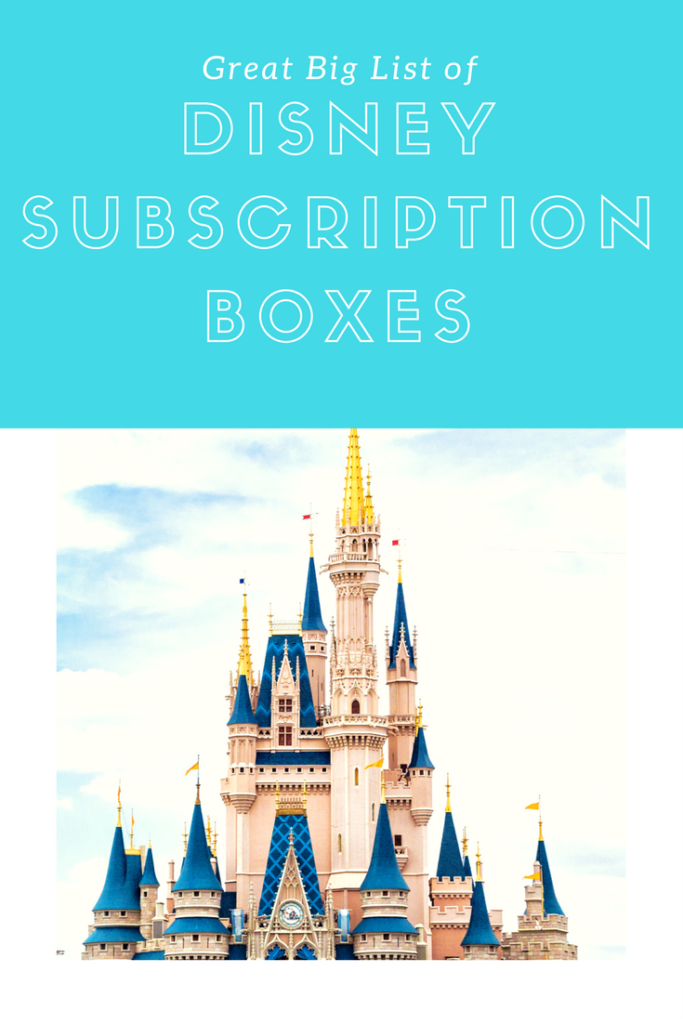 Disney Subscription Boxes